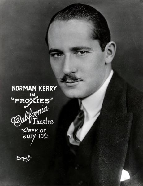 Norman Kerry Proxies